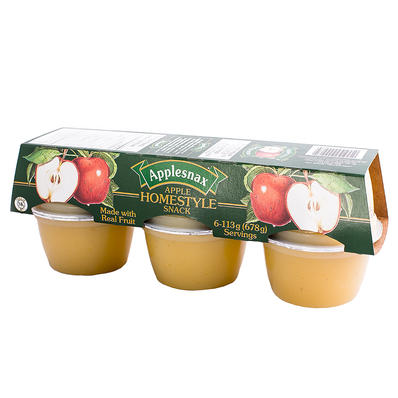 APPLESNAX HOMESTYLE APPLE 6 X 113 G