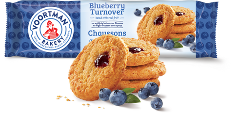 VOORTMAN BLUEBERRY TURNOVERS	300 G