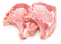 Bone in Rib End Pork Loin Chops 950-1050g