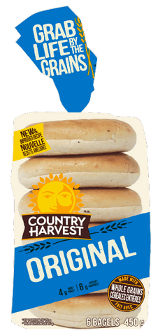 C HARVEST ORIGINAL BAGEL 6 PACK