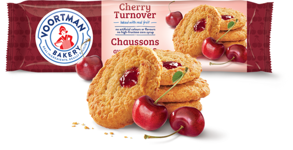 Voortman Turnovers,	Cherry 300g