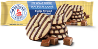 Voortman Shortbread, Fudge Striped, No Sugar Added 320g