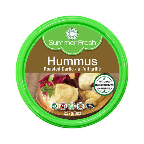 SUMMER FRESH HUMMUS ROASTED GARLIC 227 G