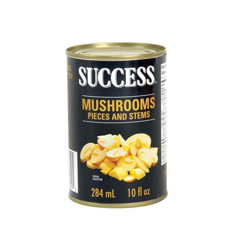 SUCCESS MUSHROOMS PIECES AND STEMS 284 ML