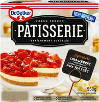 DR OETKER STRAWBERRY CHEESECAKE