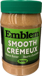 Emblem Smooth Peanut Butter 500g