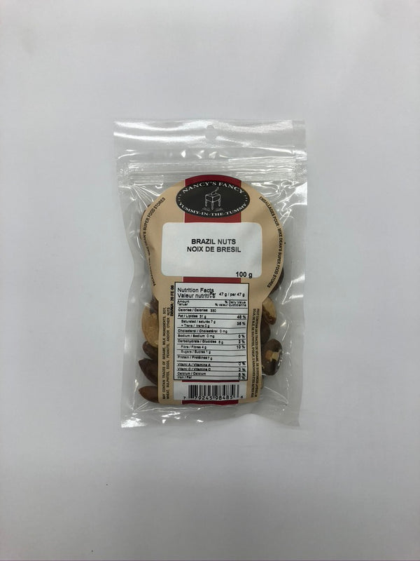 Nancy Fancy Brazil Nuts 100 G