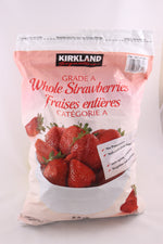 FROZEN Kirkland Signature Whole Strawberries 2.5 kg