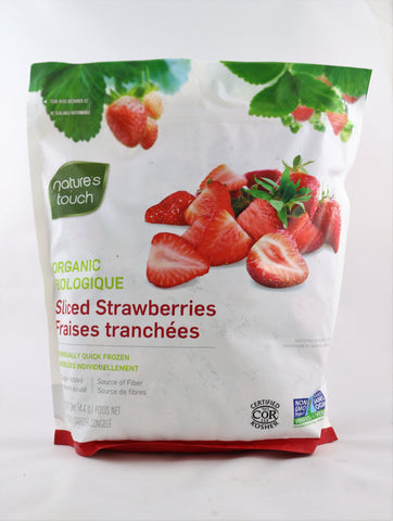 Nature's Touch Organic Sliced Strawberries 2 kg