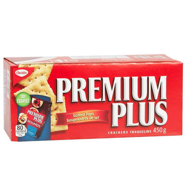 Premium Plus Crackers, Salted 450g