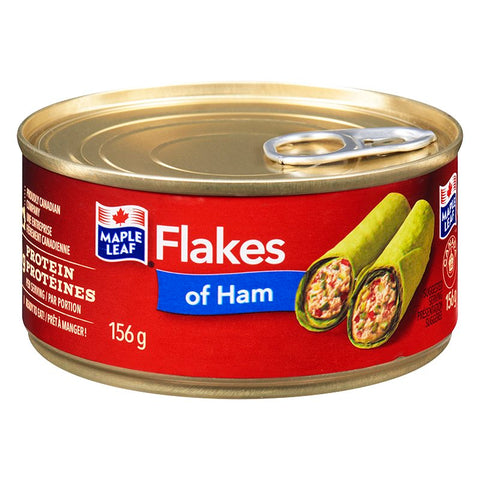 MAPLE LEAF FLAKES OF HAM 184GR