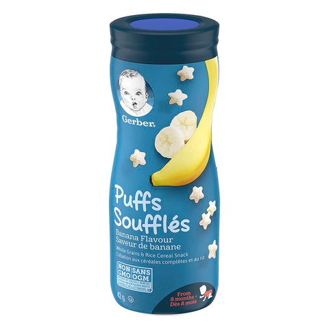 GERBER PUFFS, Banana, Baby Snacks 42 g