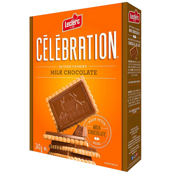 Celebration Butter Cookies, Milk Chocolate 240g