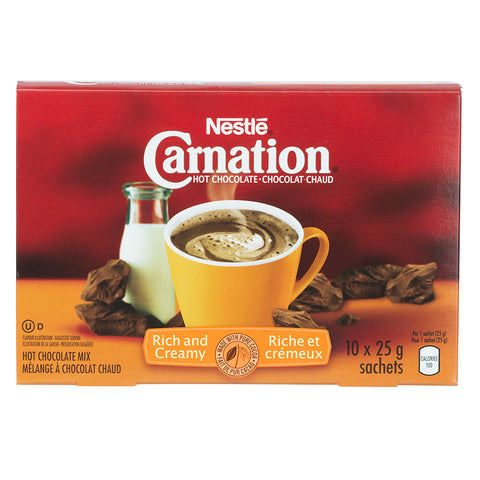 CARNATION HOT CHOCOLATE RICH	10X25G