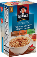 Quaker Instant Oatmeal, Flavour Variety 8pk