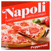 NAPOLI PEPPERONI PIZZA 356 G