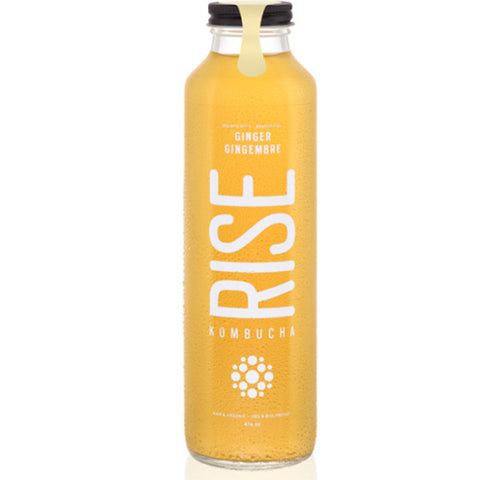 RISE GINGER KOMBUCHA 414 ML