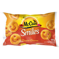 Mccain Smiles Fries 650G