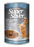 Super Saver Dog Beef 652 G