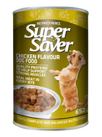 Super Saver Dog Chicken 652 G