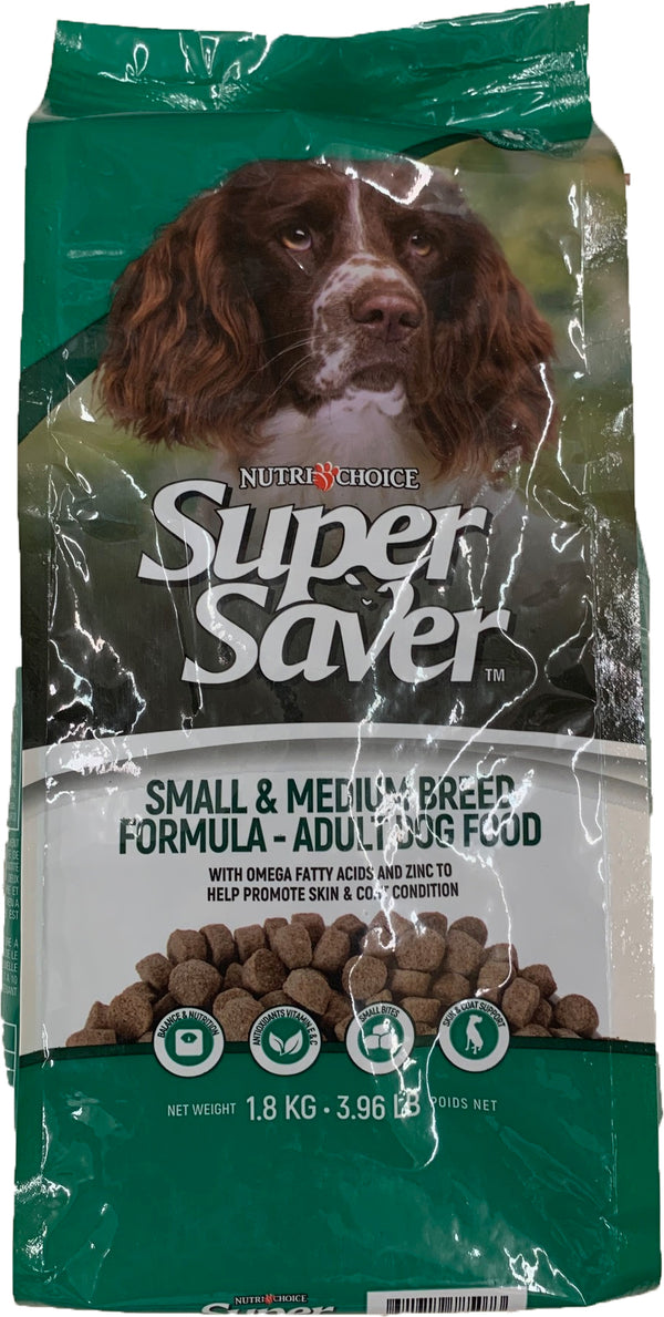 Super Saver Dog S M Breed Dog Food 1.8Kg