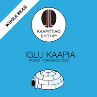 Kaapittiaq Coffee Iglu Kaapia (Espresso) Roast, Whole Bean 454g