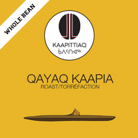 Kaapittiaq Qayaq Kaapia (Medium) Roast - Whole Bean 454g