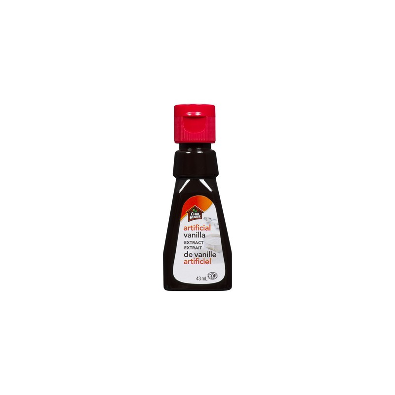 CLUB HOUSE ARTIFICIAL VANILLA EXTRACT	43ML