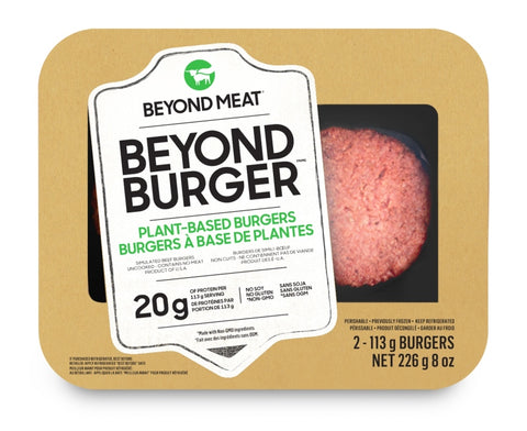 BEYOND MEAT BEYOND BURGER 226 GR