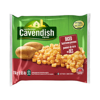 Cavendish Diced Hash Brown Potatoes 750G
