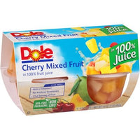 Dole Fruit Salad In Juice 4 Pk
