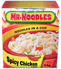 Mr Noodles In a Cup, Spicy Chicken 64g