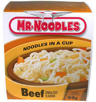 Mr Noodles In a Cup, Beef 64g