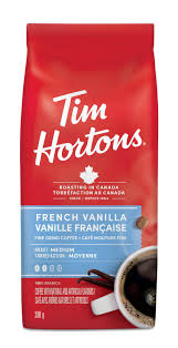 Tim Hortons French Vanilla Ground Coffee 300 G