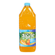 Fruite Peach 50% Less Sugar 2L