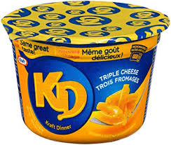 Kraft Dinner Cup Three Cheese 58 G
