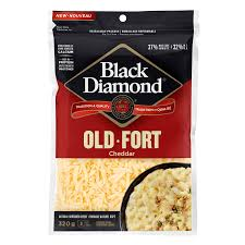 Black Diamond Shredded Cheese, Old 320g
