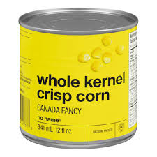 No Name Whole Kernel Corn 341 ML