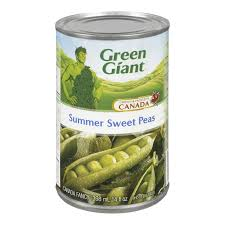 Green Giant Summer Sweet Peas 14 OZ