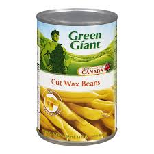 Green Giant Cut Wax Beans 14OZ.
