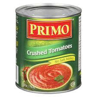 Primo Crushed Tomatoes, No Added Salt 28OZ
