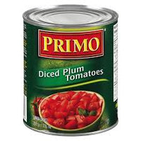 Primo Diced Plum Tomatoes 28OZ.