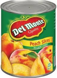 Del Monte Peach Slices 398 ML