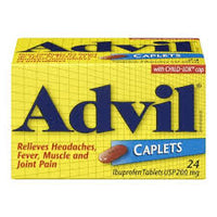 Advil Caplets Regular Strength 24 Pk