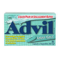 Advil Liquid Gel 16Pk