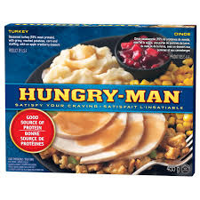 Hungry Man Turkey Dinner 455 G