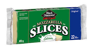 Black Diamond Mozzarella Slices 410 G