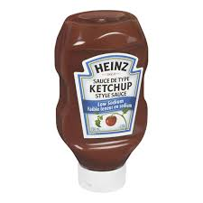 Heinz Ketchup Style Sauce, Low Sodium 750mL
