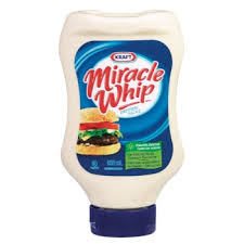 Kraft Miracle Whip Squeeze 650mL