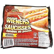 HARVEST CREEK CHICKEN WEINERS 450 G
